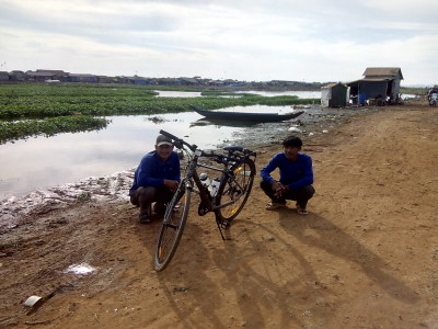 Bike Inspection at Kampong Luong