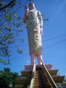 Buddha at Phnom Yat Pagoda