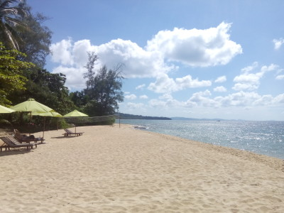 Beach at a resort in NW Phu Quoc