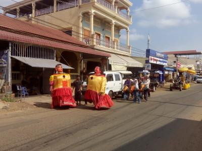 Kampot Chhnang Procession