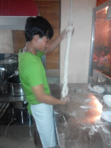 Making Noodles Kampot