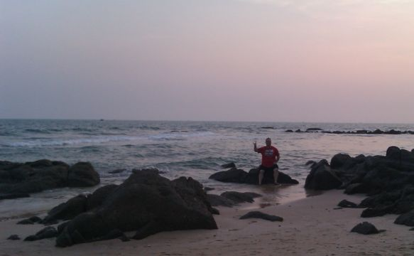 Deano at Mui Ne beach