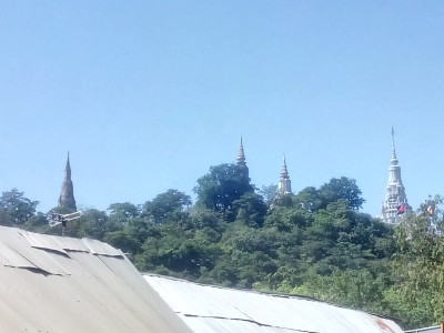 Phnom Udong mountain temple