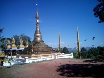 Phnom Yat Pagoda, Pailin, Cambodia