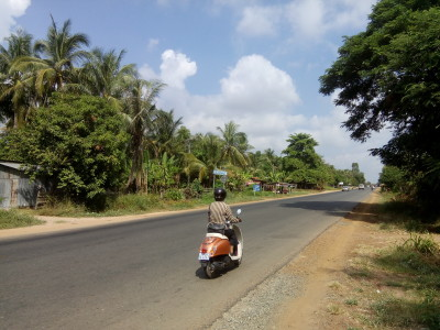Road to Kampot Chhnang