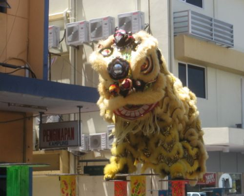 Kota Kinabalu dancing Lion