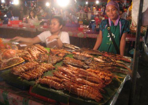 Food at the KK Market