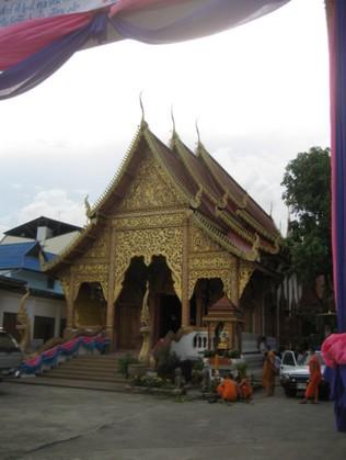Wat Lan Chang Chiang mai, Thailand